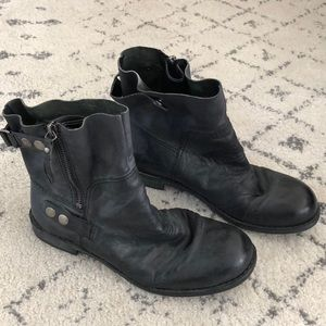 Nine West Moto boots ✨real leather✨